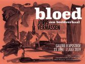 poster exhibition BLOOD